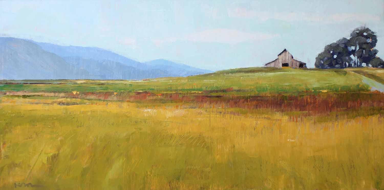 Barn on a Hill, West Marin