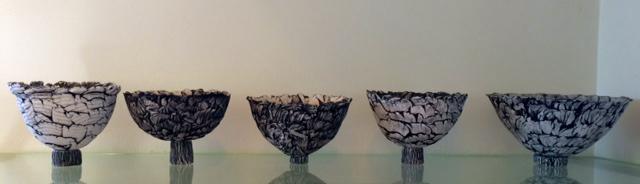 Rose Petal Bowls