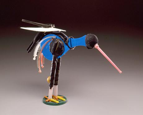 Blue Shorebird