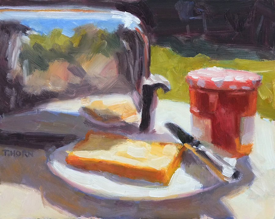 Landscape with Toaster