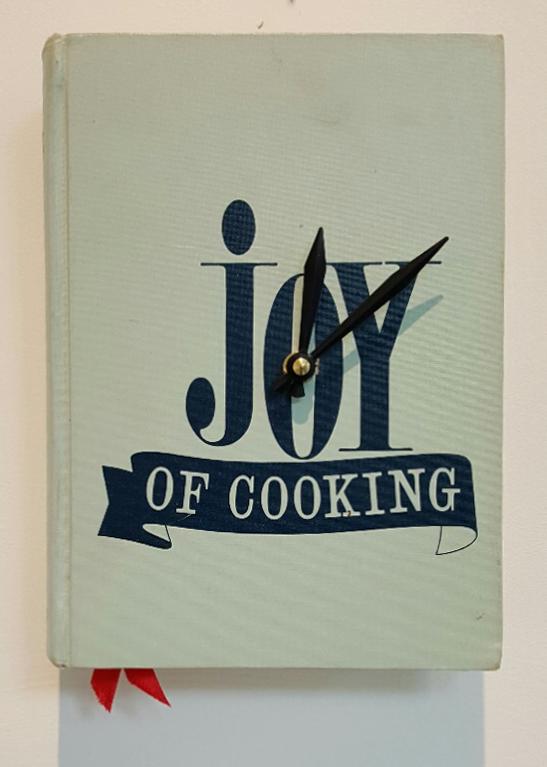 Joy of Cooking Clock