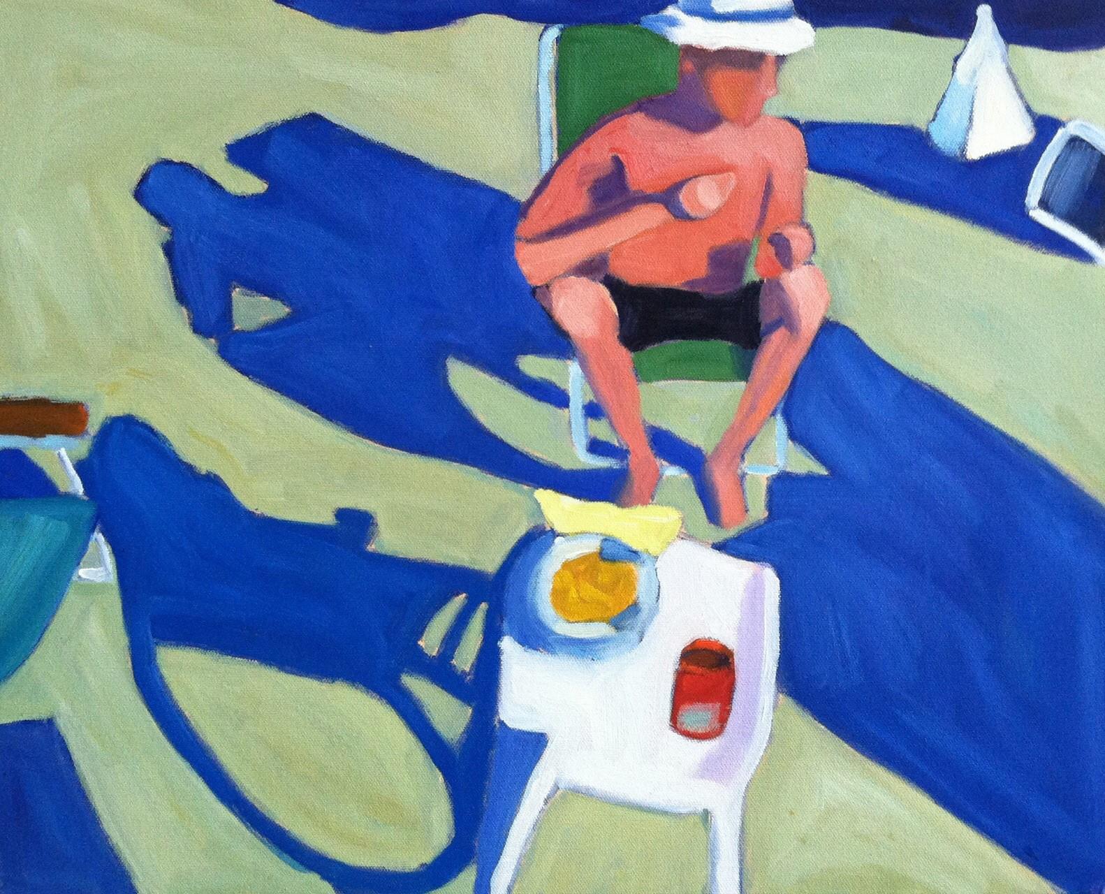 Man in a Beach Chair