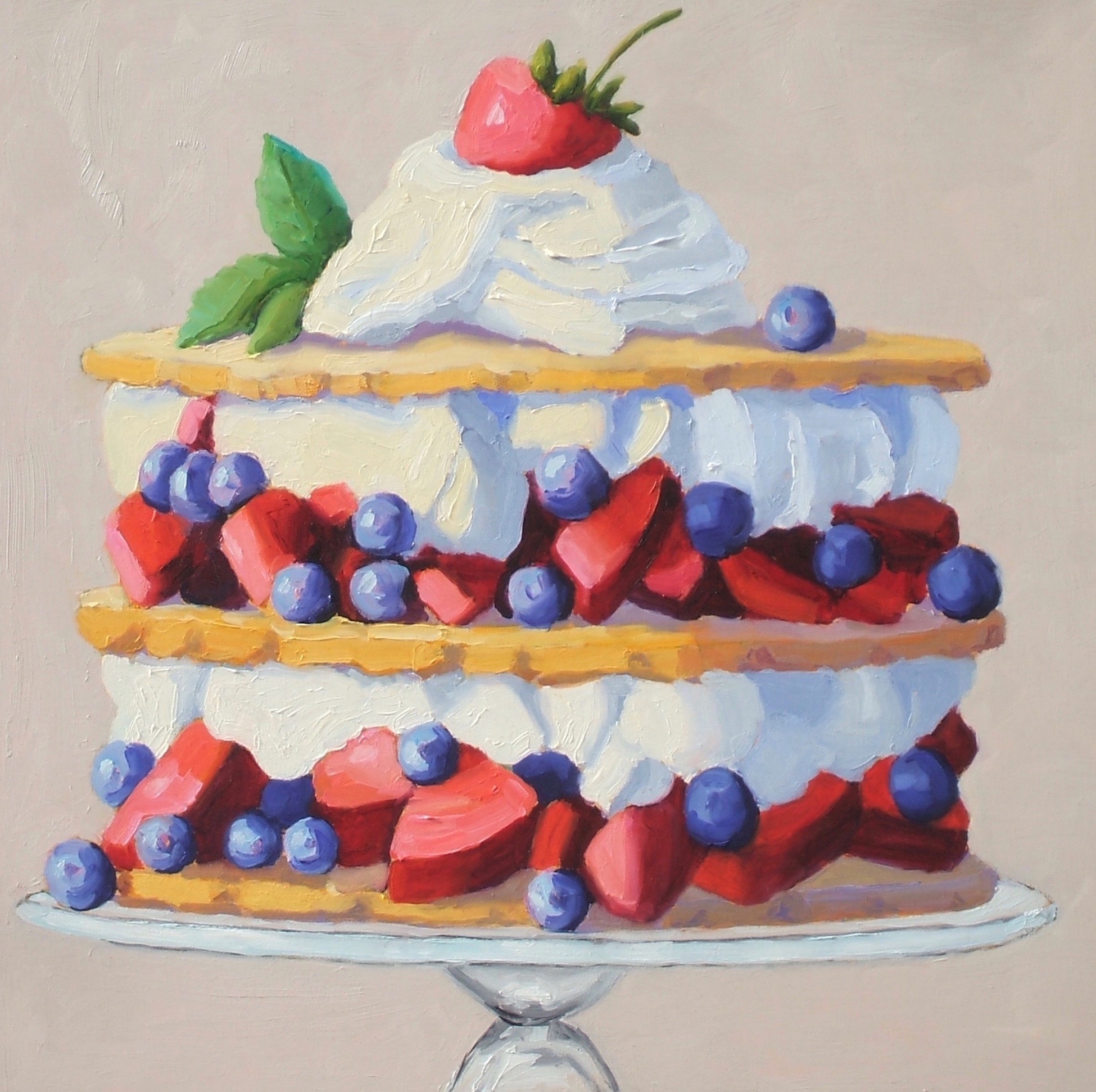 Berry Layer Torte