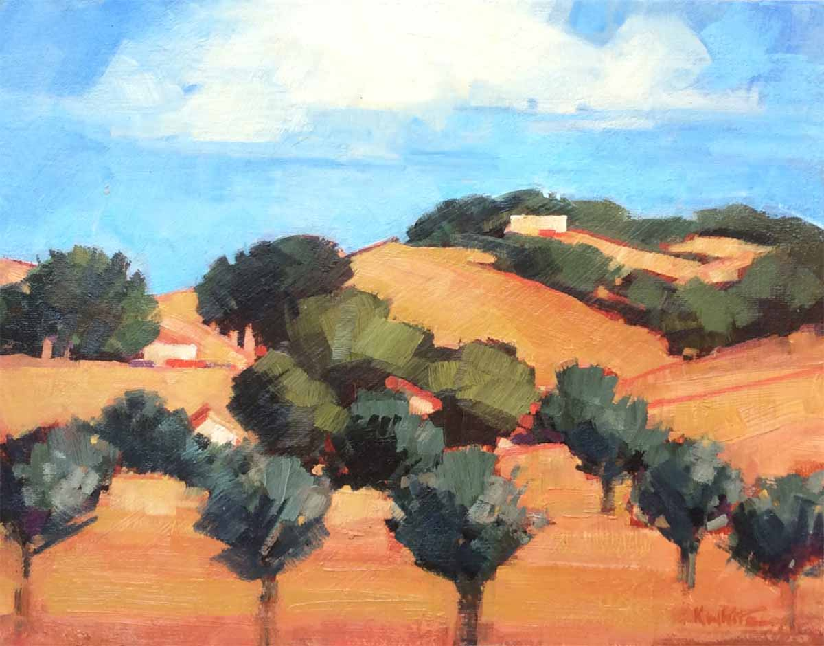 Uphill Olives, Livermore
