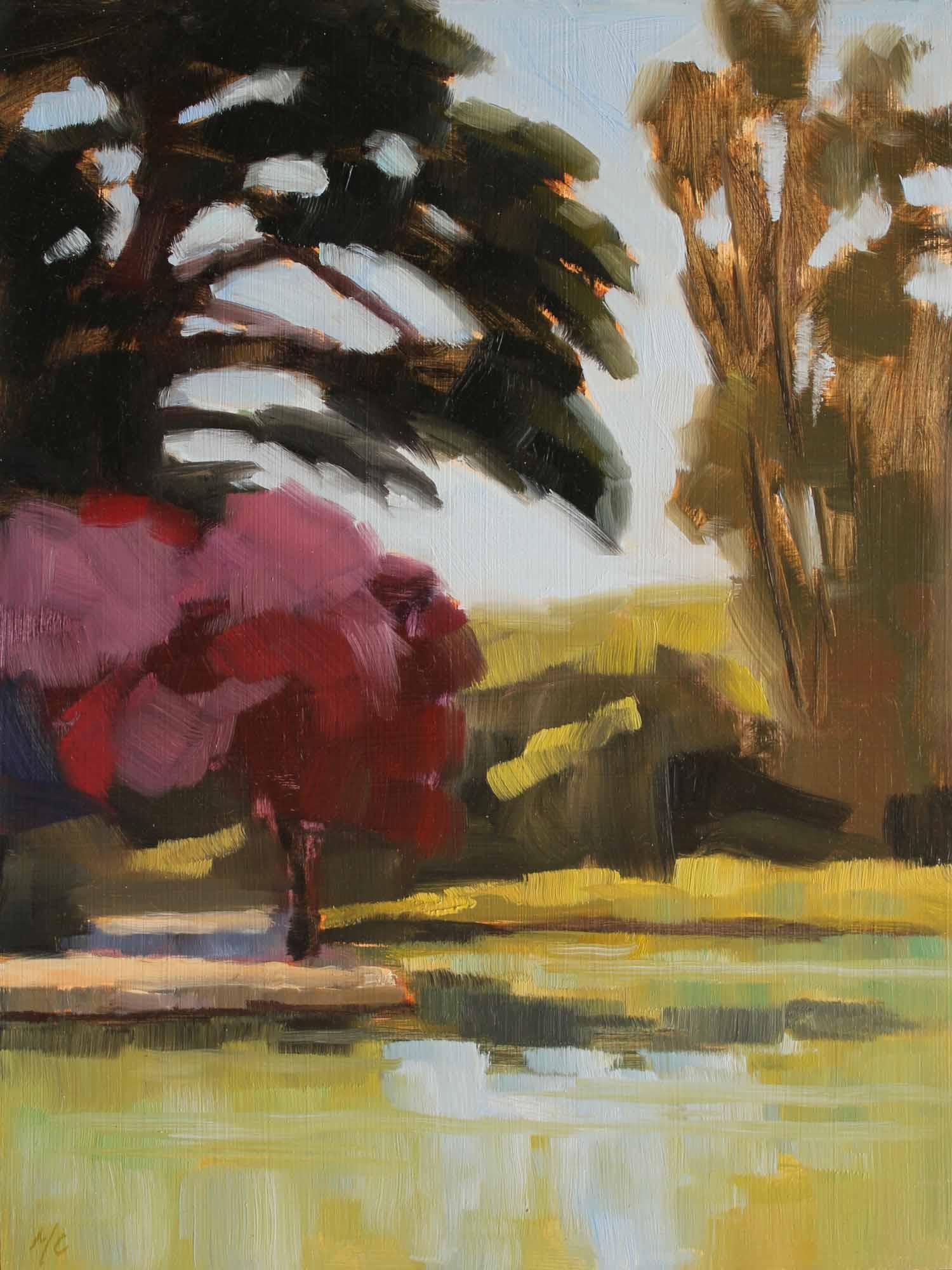 Spring Morning, Stow Lake