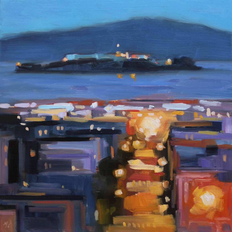 Alcatraz at Dusk