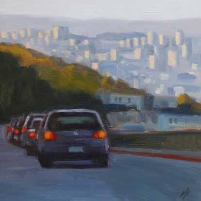 City Skyline from Portola
