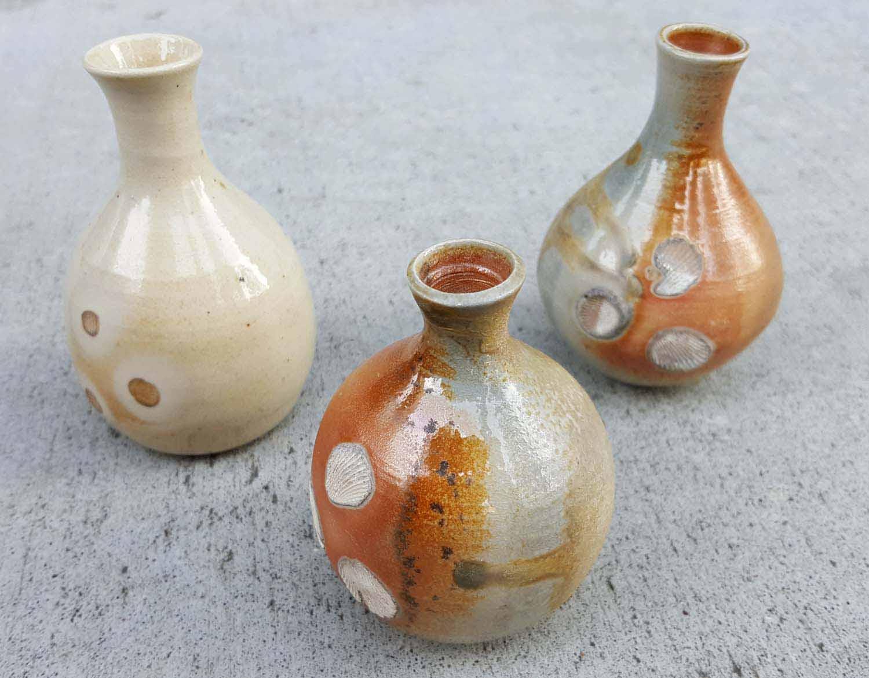Mini Wood-Fired Vases