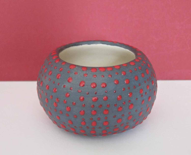 Red Dot Bowl
