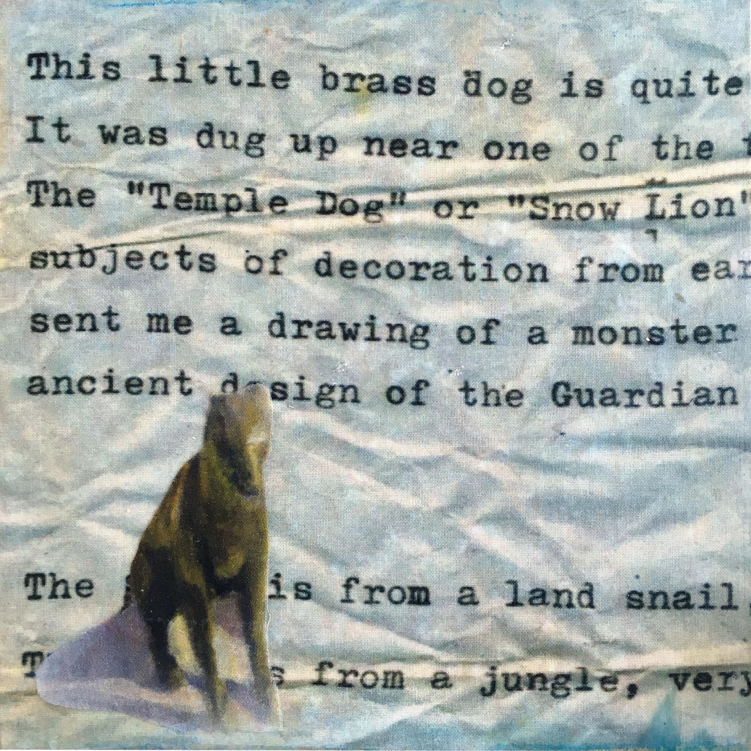 Little Brass Dog