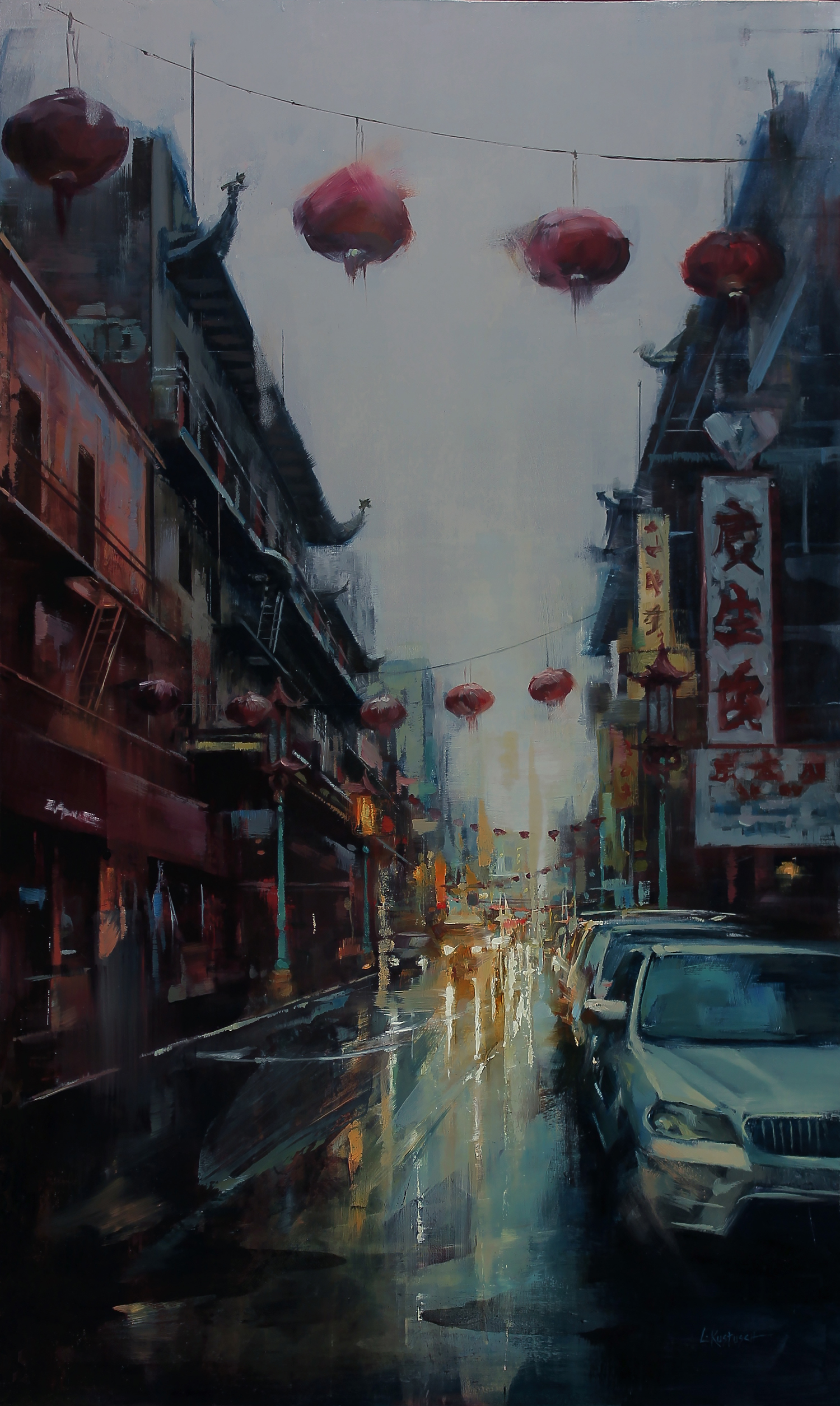Reflections of Chinatown