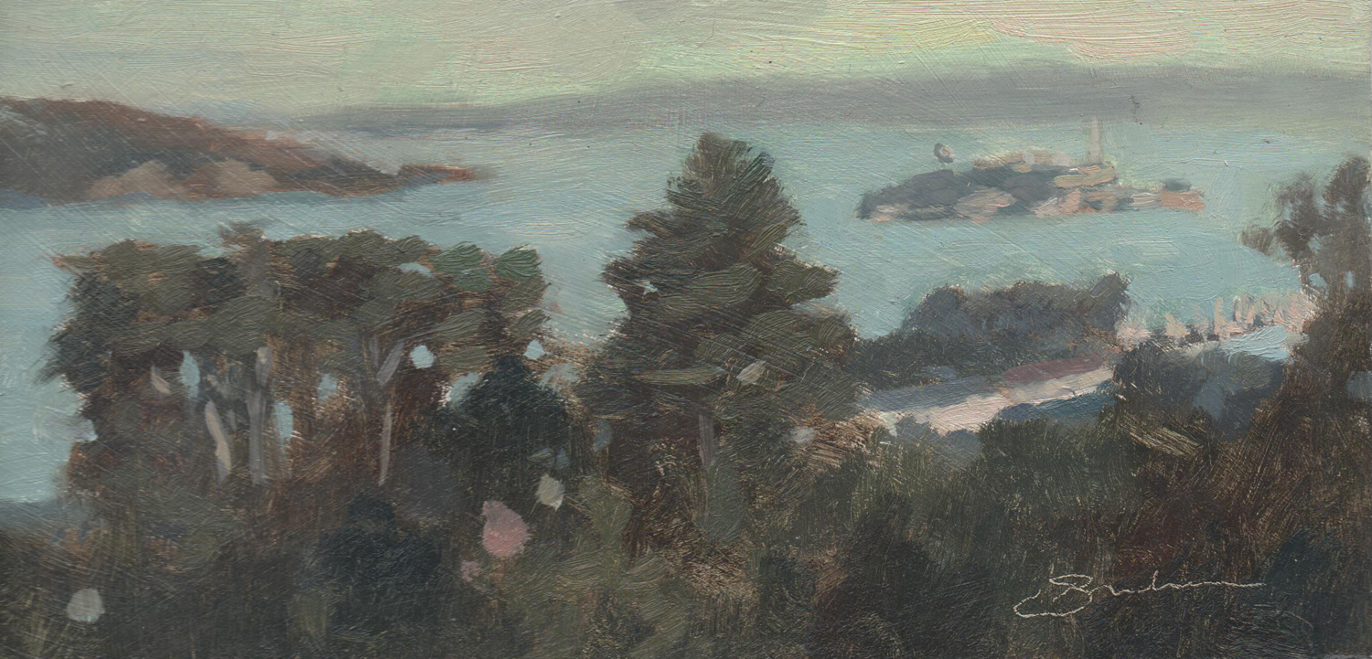 Study for View of Alcatraz