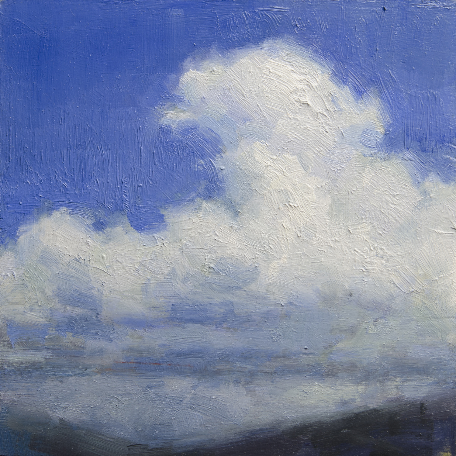 Cloud Composition (blue)