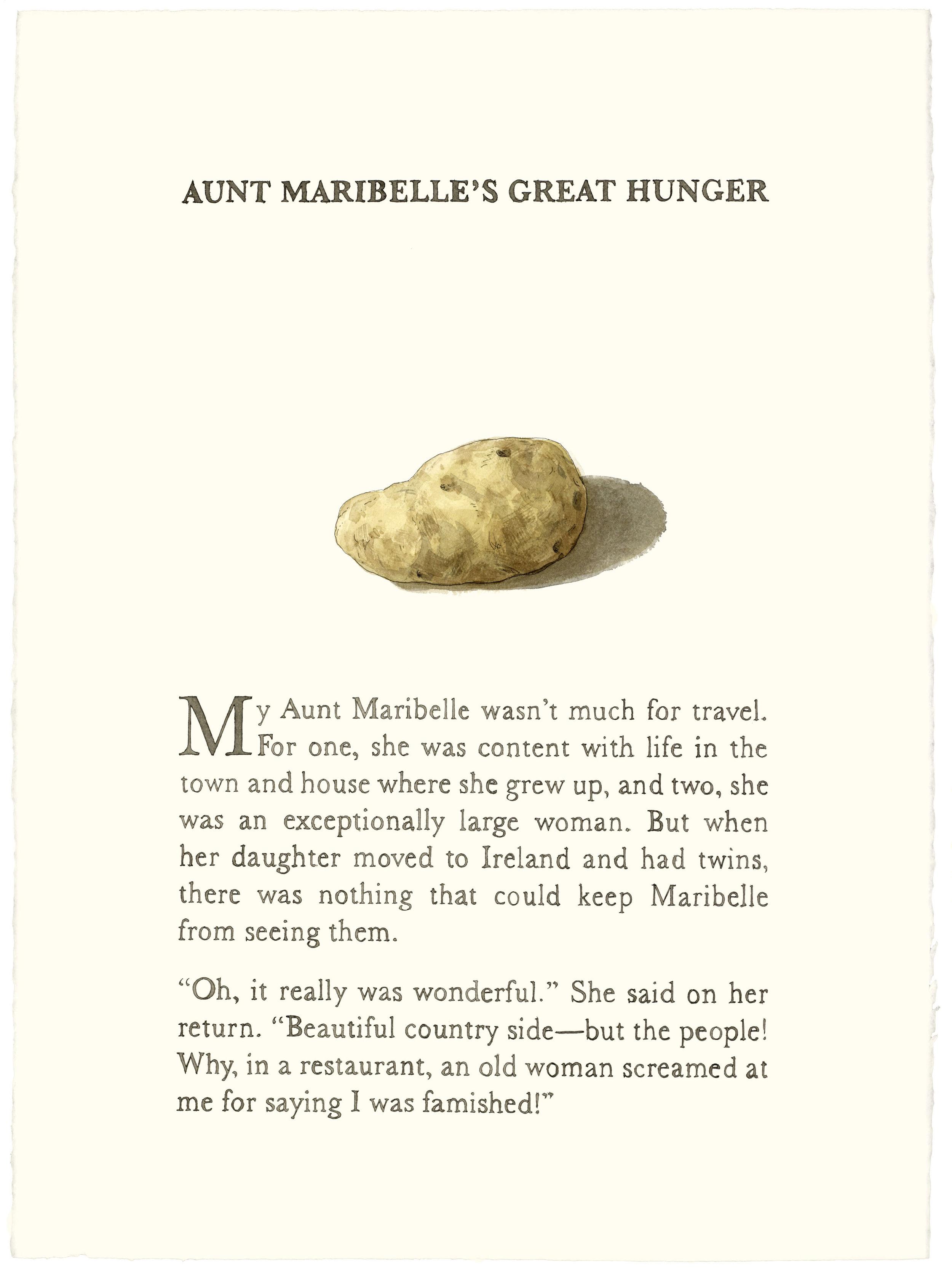 Aunt Maribelle's Great Hunger
