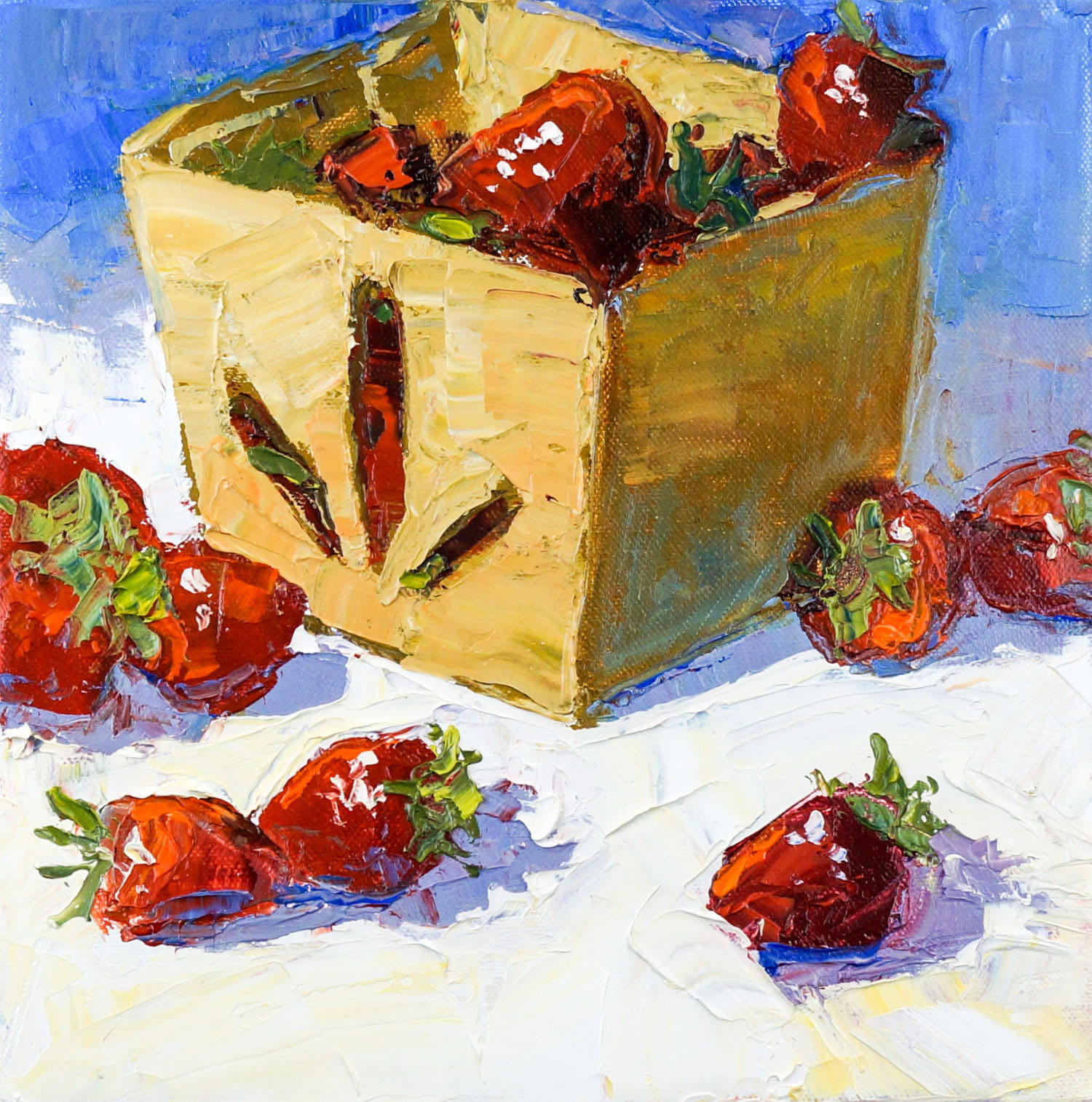 Strawberries in a Box