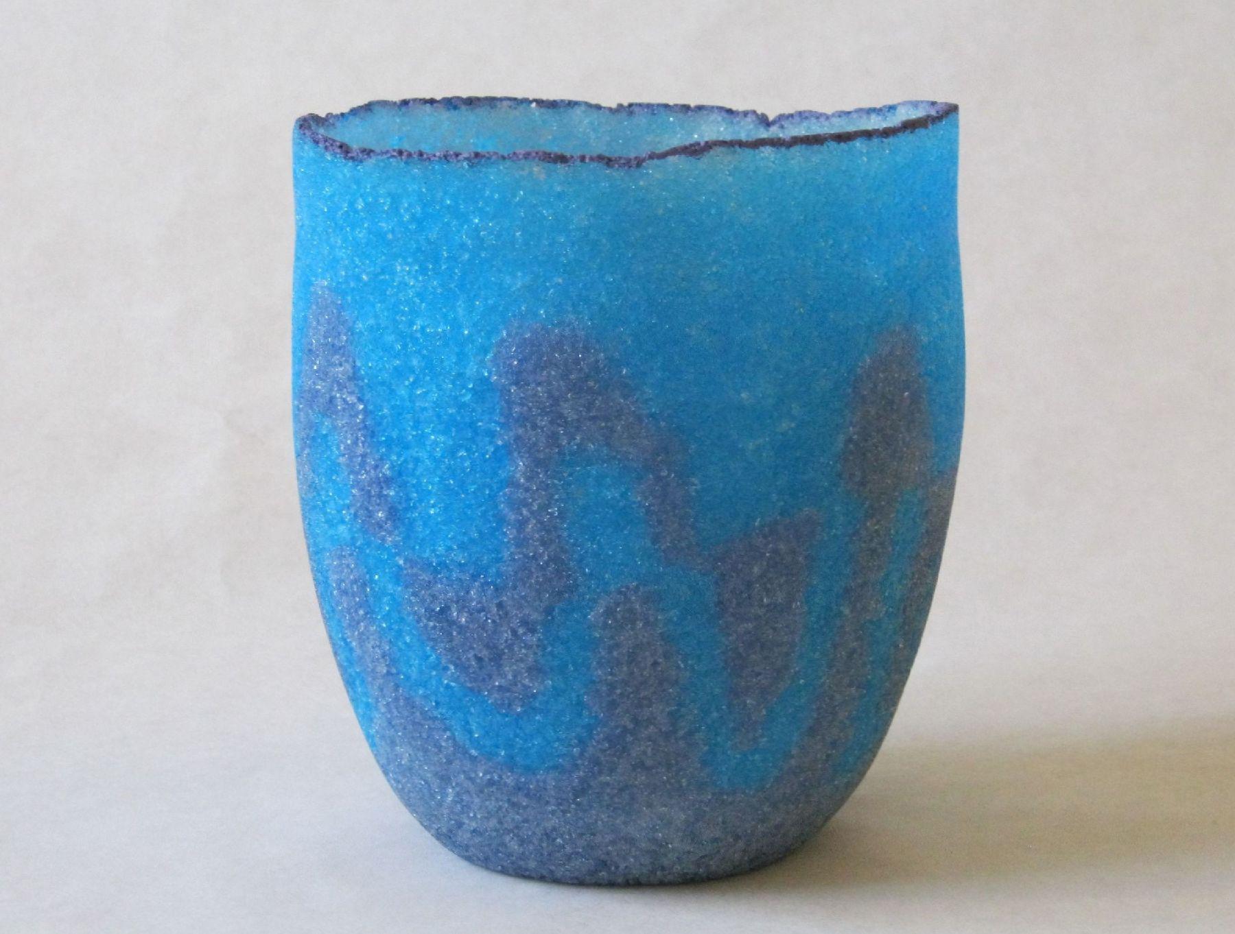 Blue & Lilac Vessel