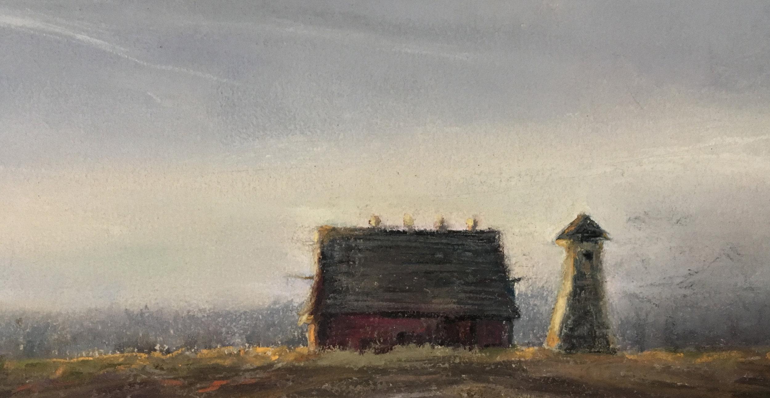 Water Tower & Barn - November