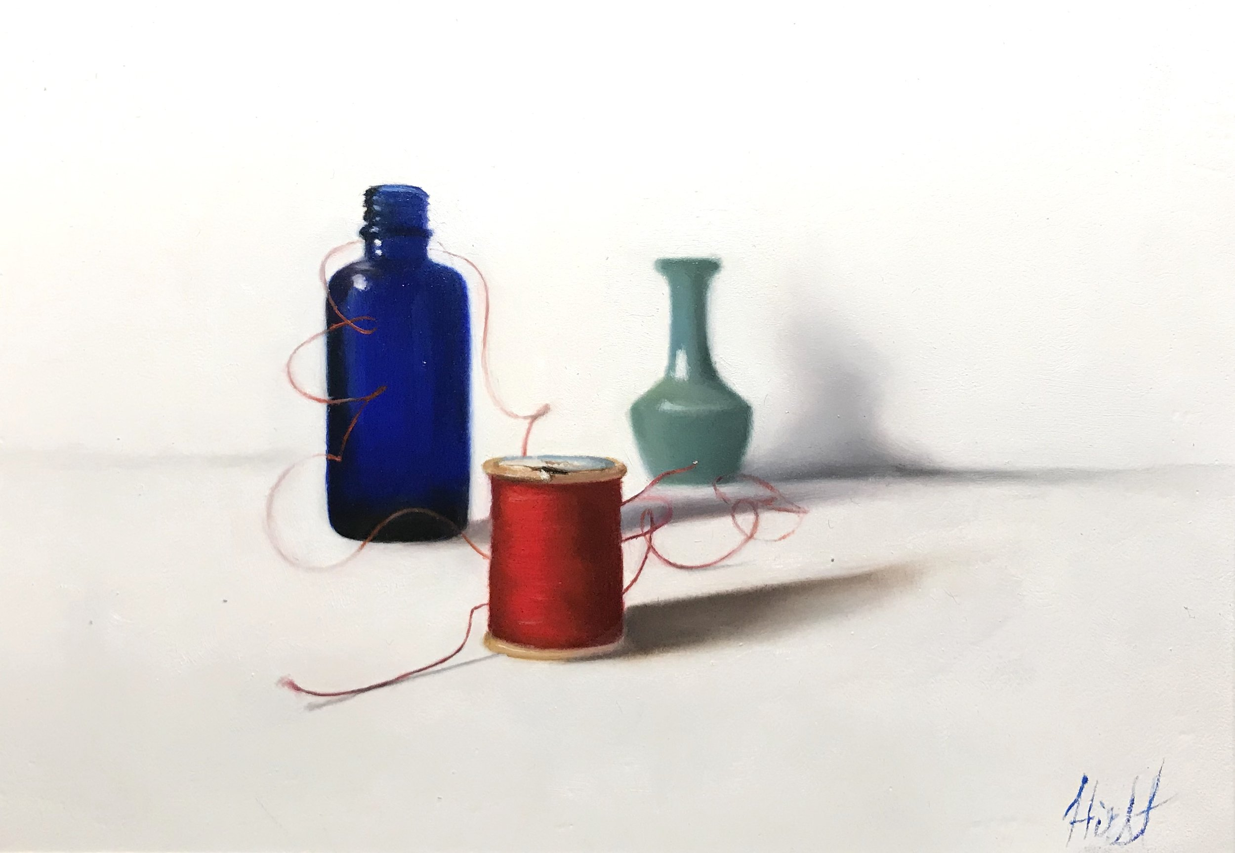 Red Thread Two, Blue