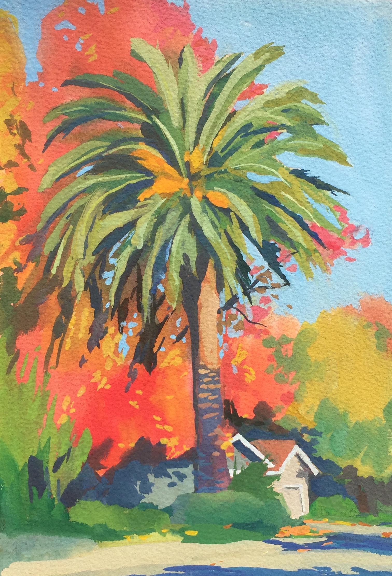 Autumn Palm