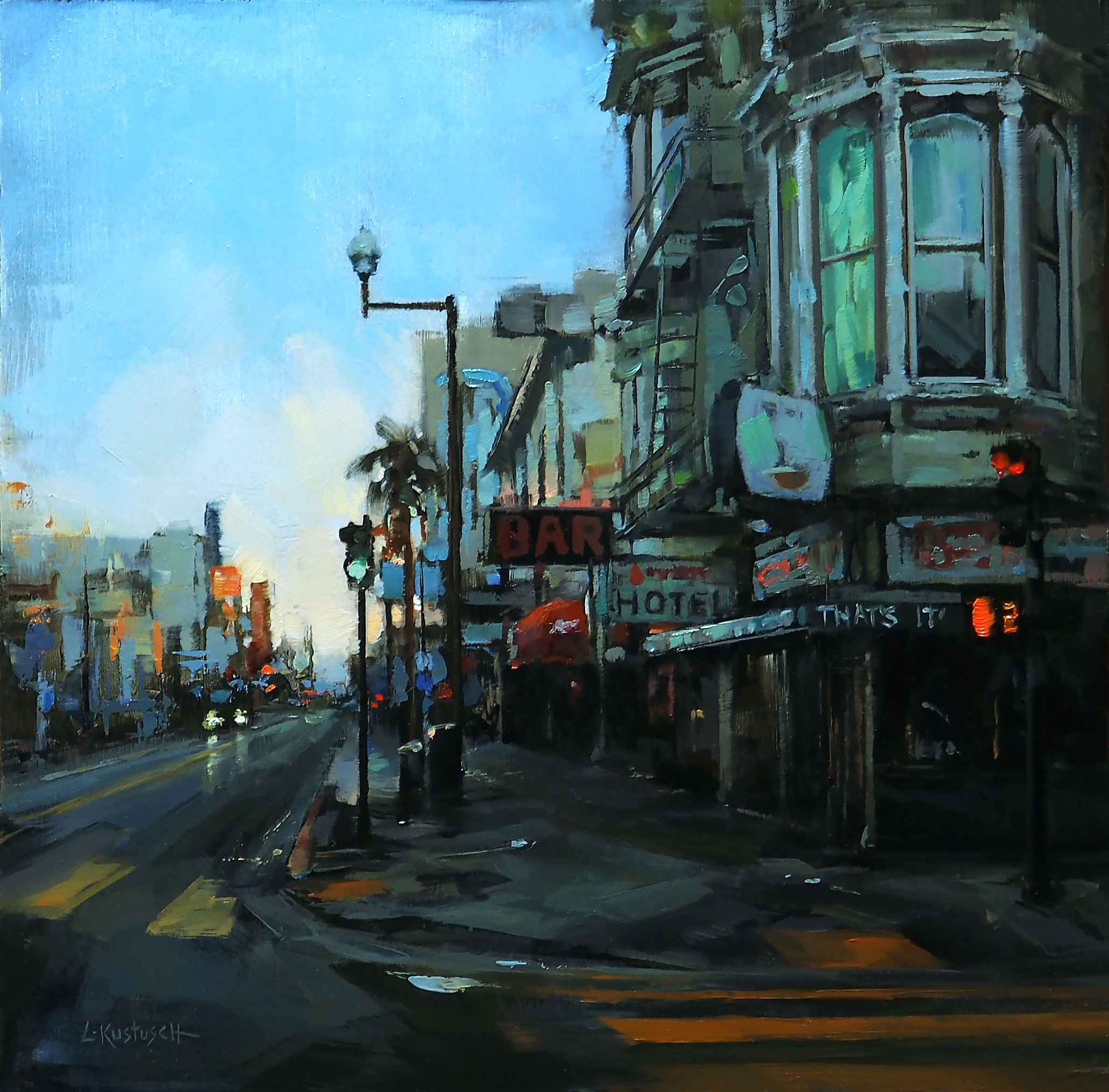 Morning in the Mission