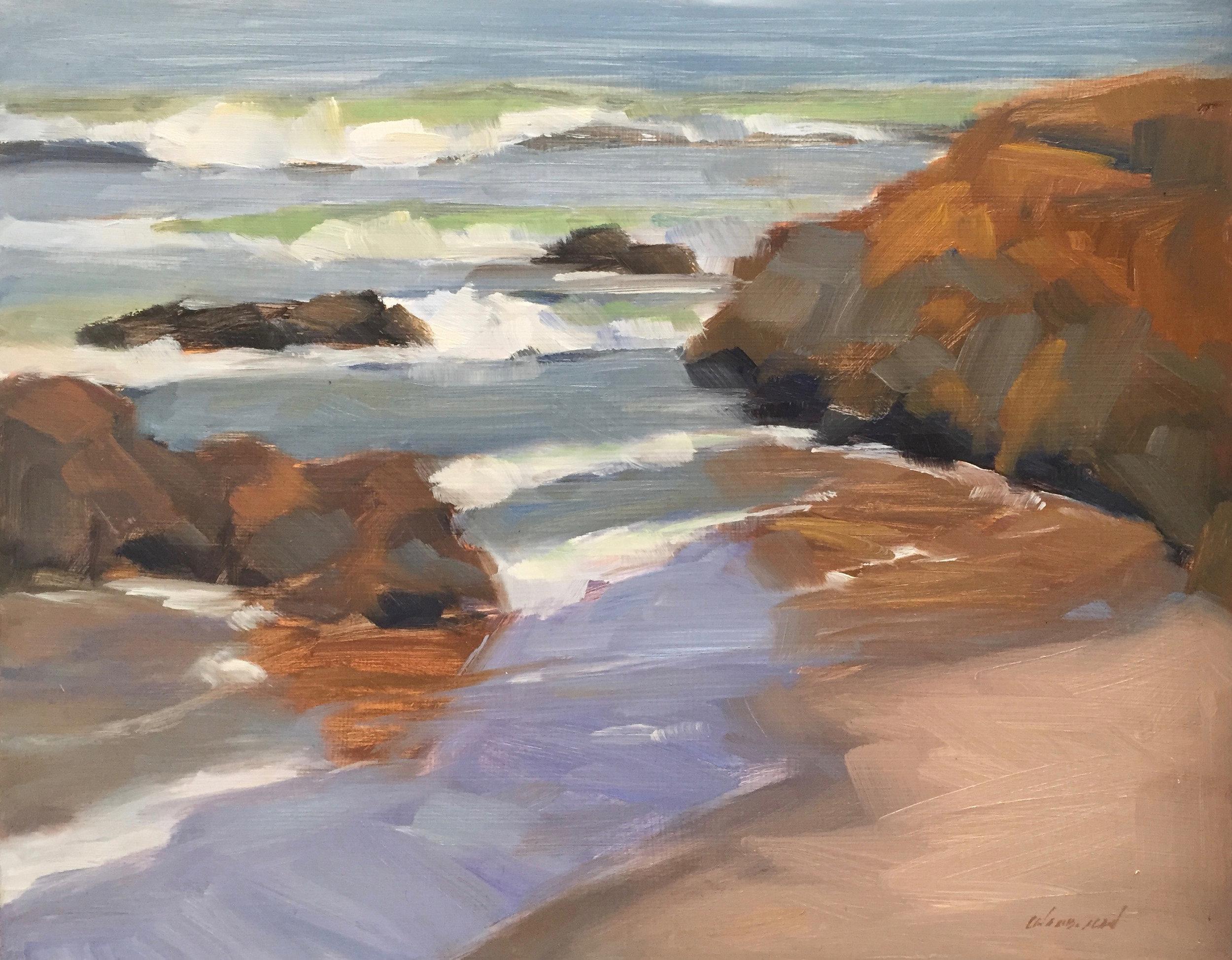 Rock Reflections, Pescadero