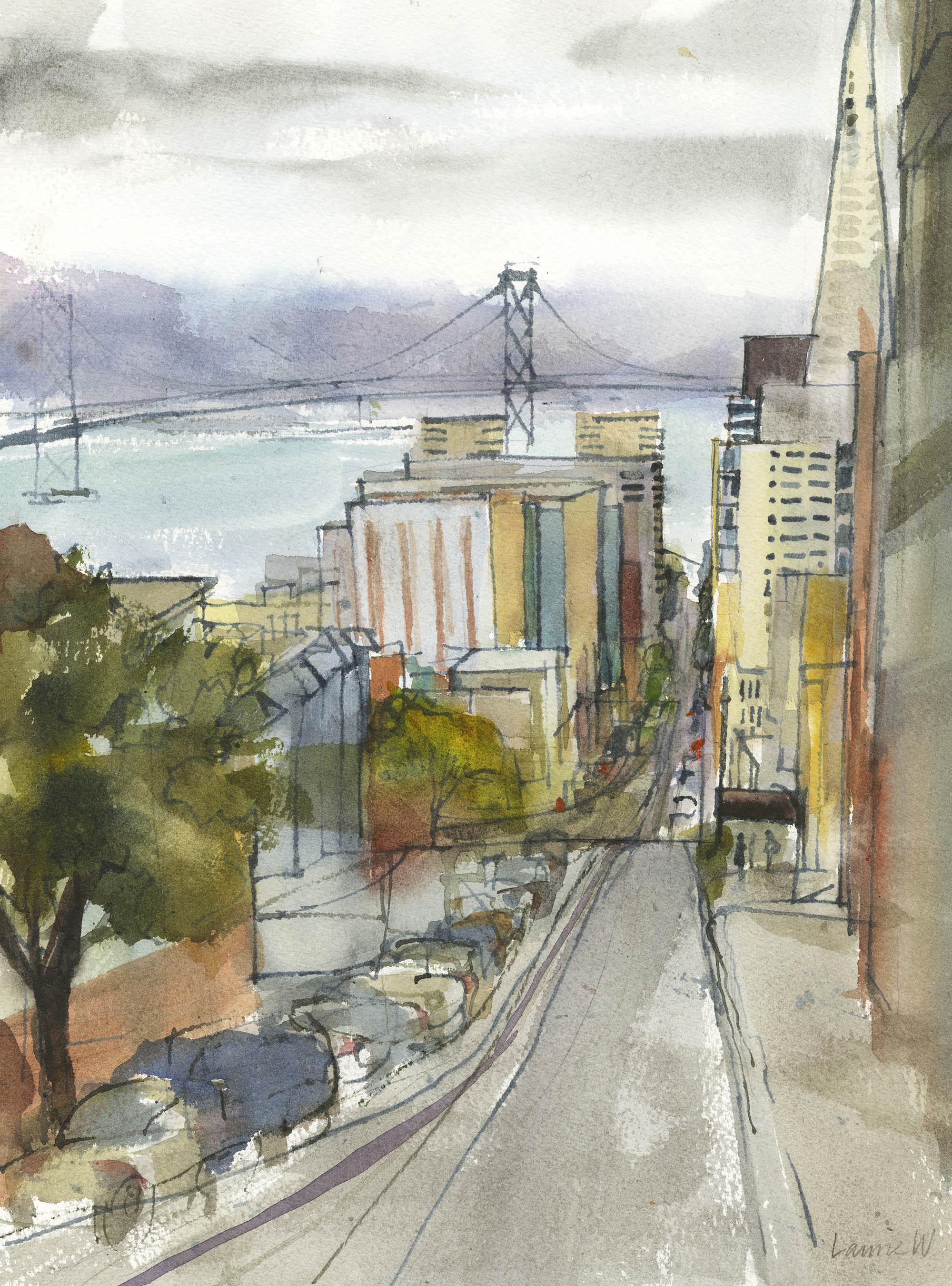 Washington Street Looking East