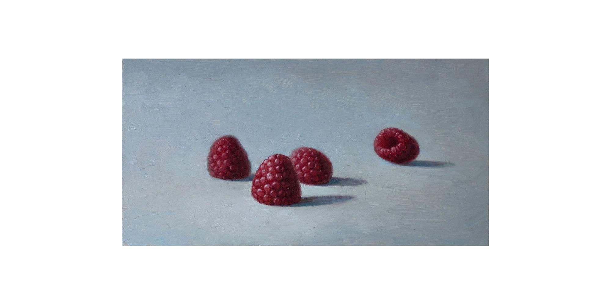 Four Raspberries