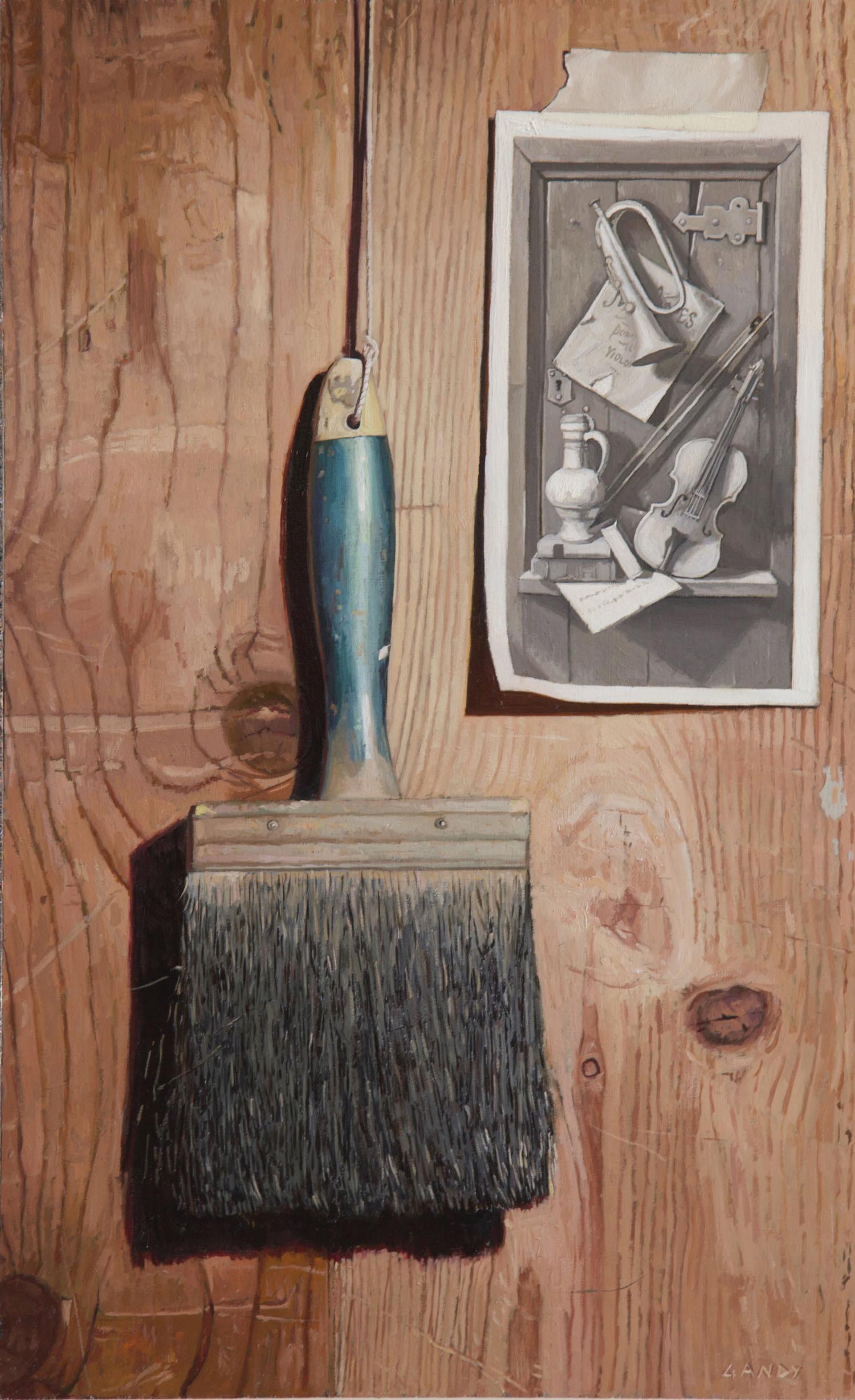 Brush and William Harnett Study