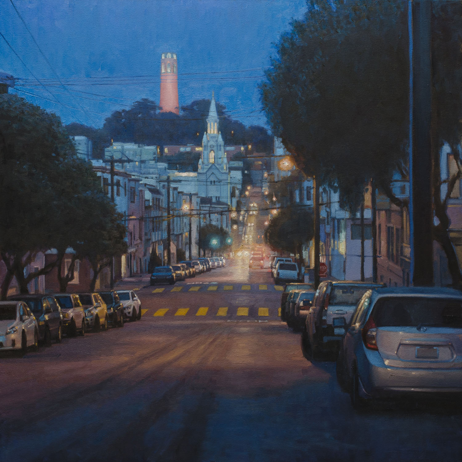 Coit Tower Nocturne
