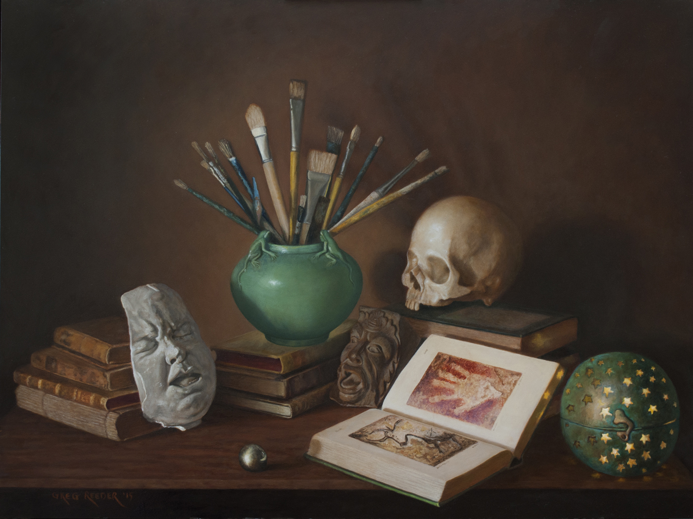 On the Triumph of Art over Death
