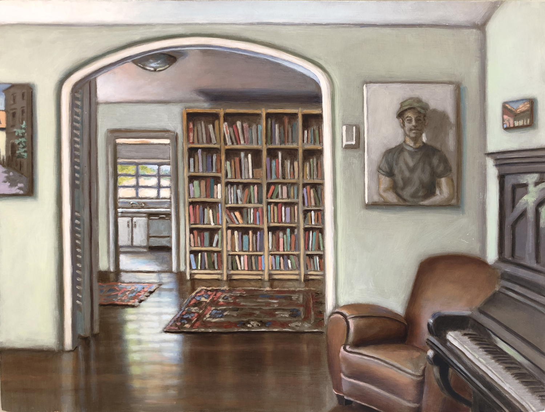 Interior with Bookshelf