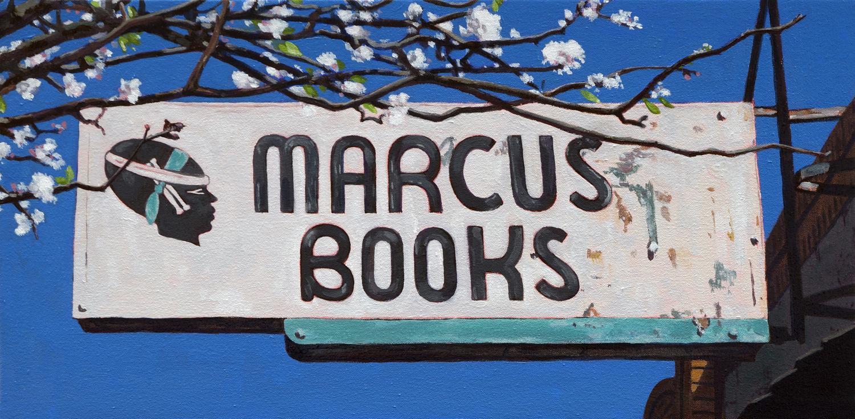 Springtime at Marcus Books, Oakland, CA
