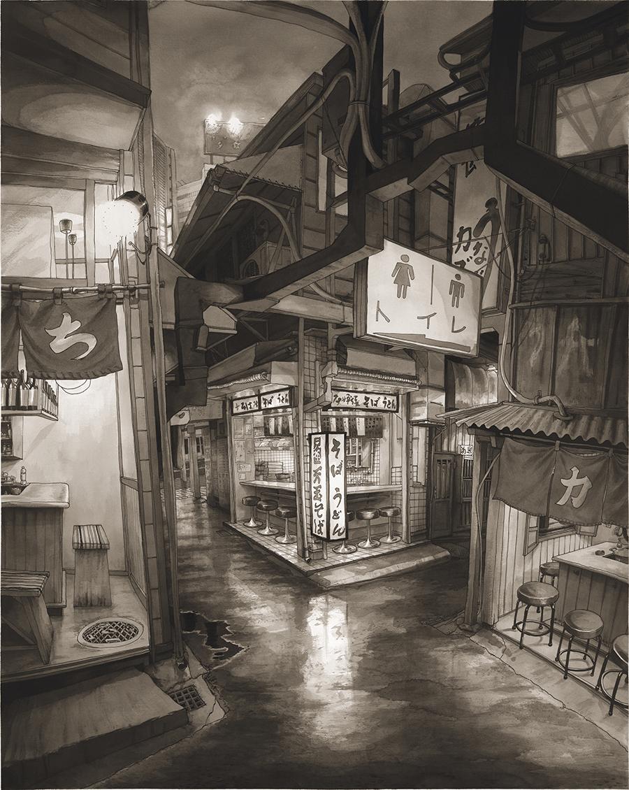 Tokyo Shinjuku Piss Alley