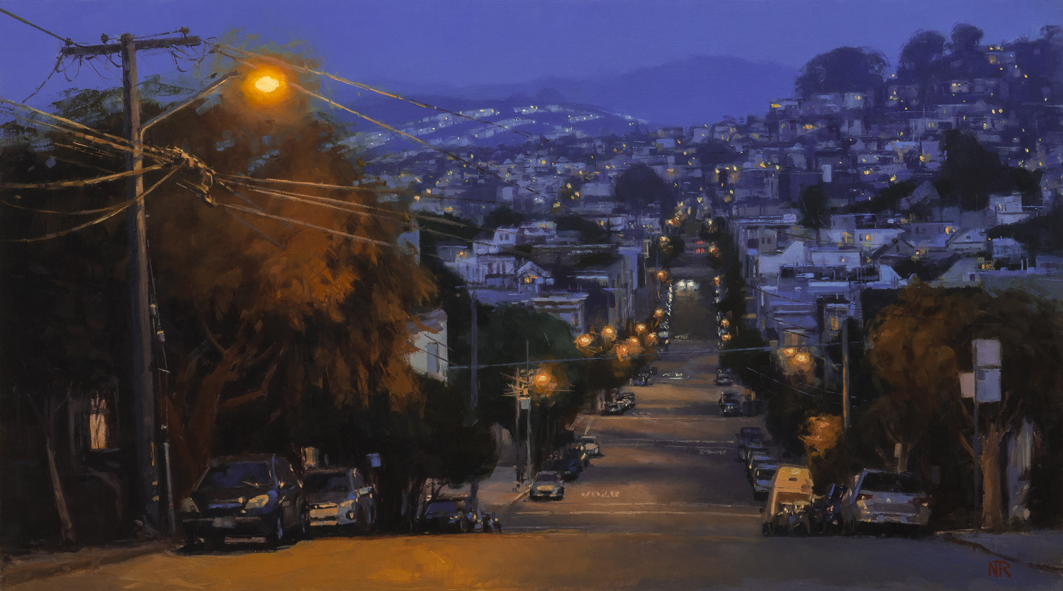 Dusk on Dolores Heights