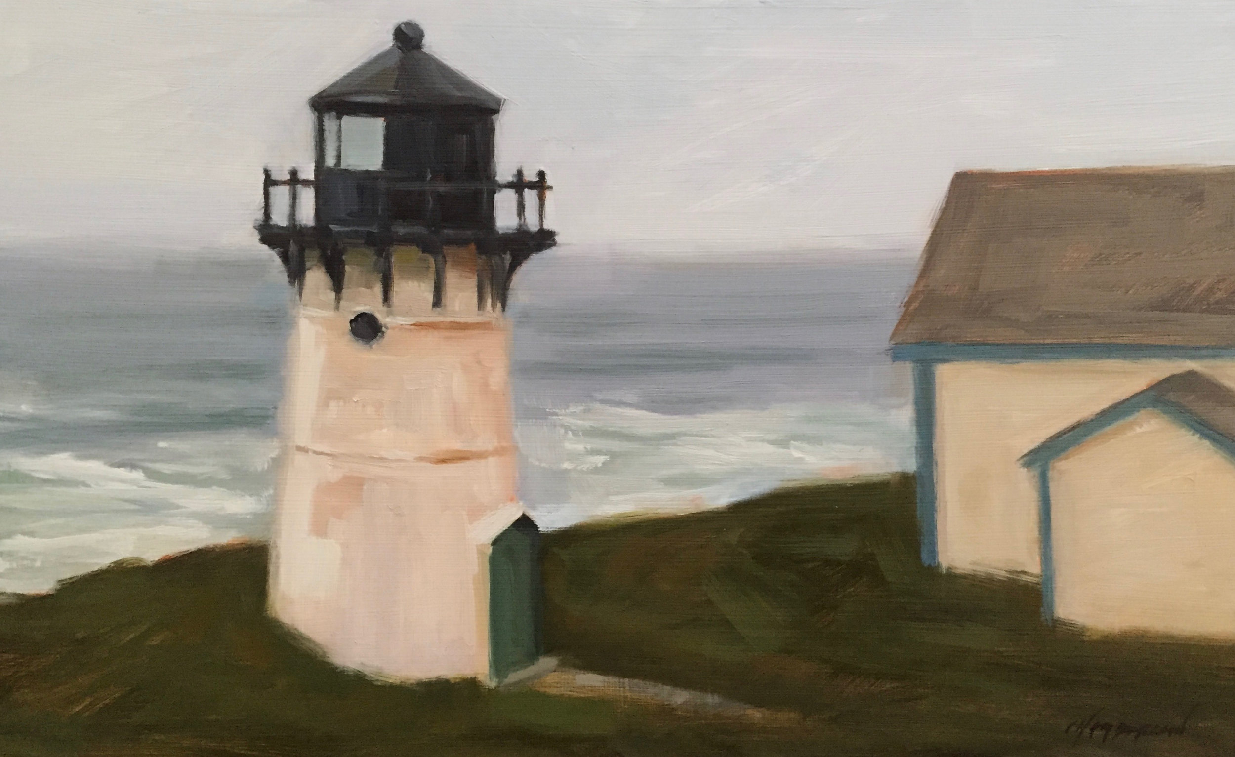 Montara Light in the Fog
