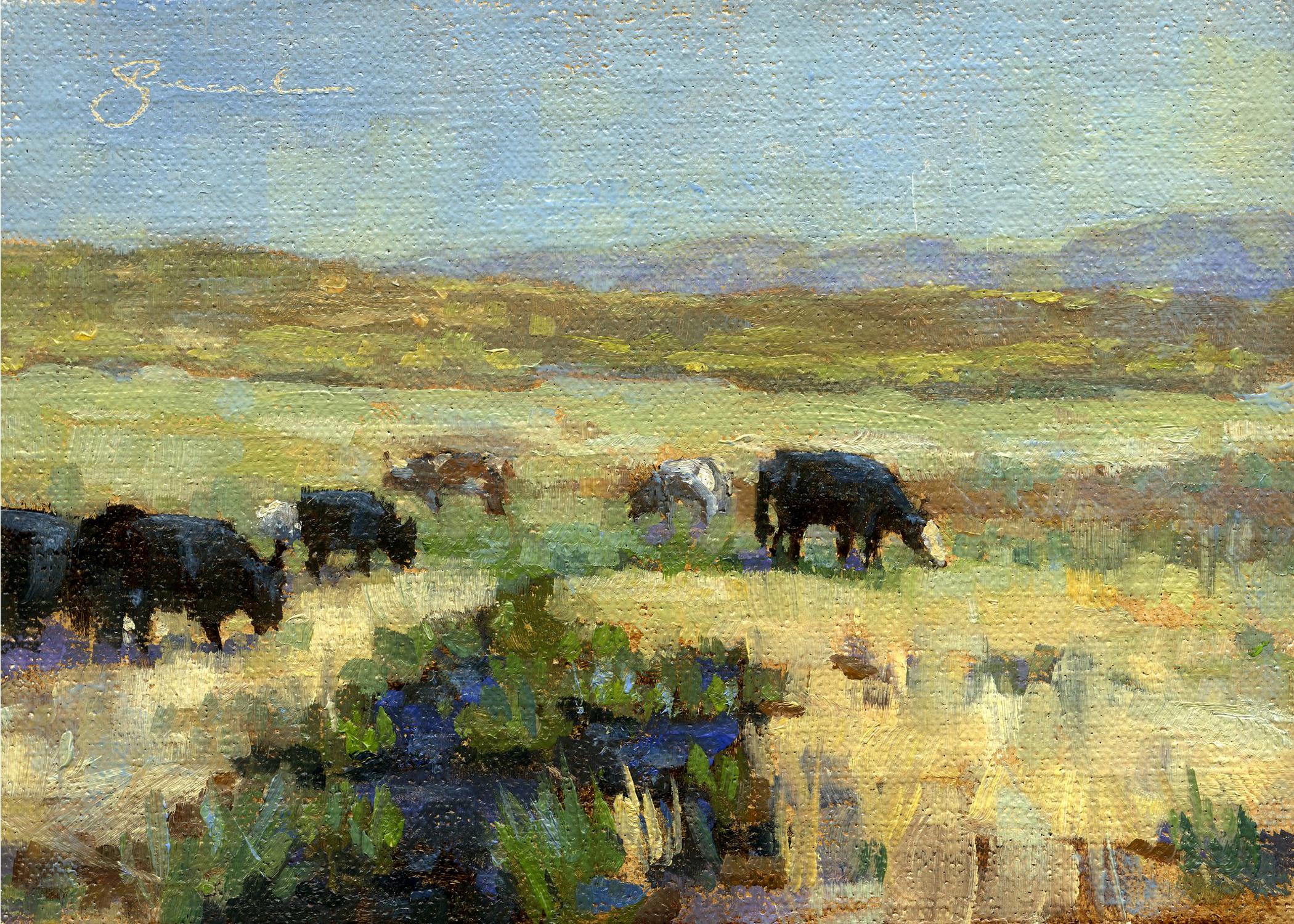 Eastern Sierra Cattle