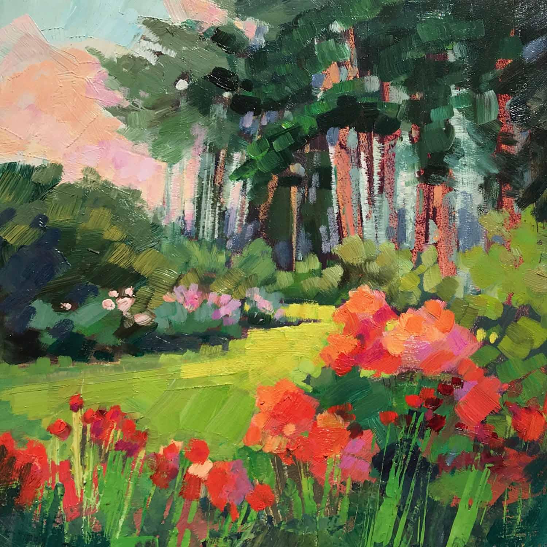 Botanical Garden Summer