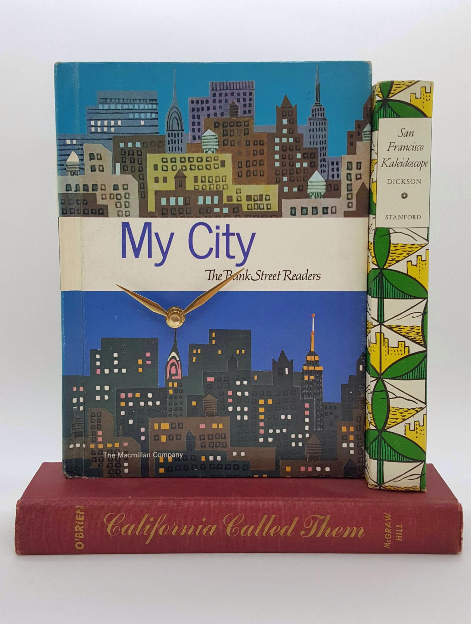 My City Book Clock