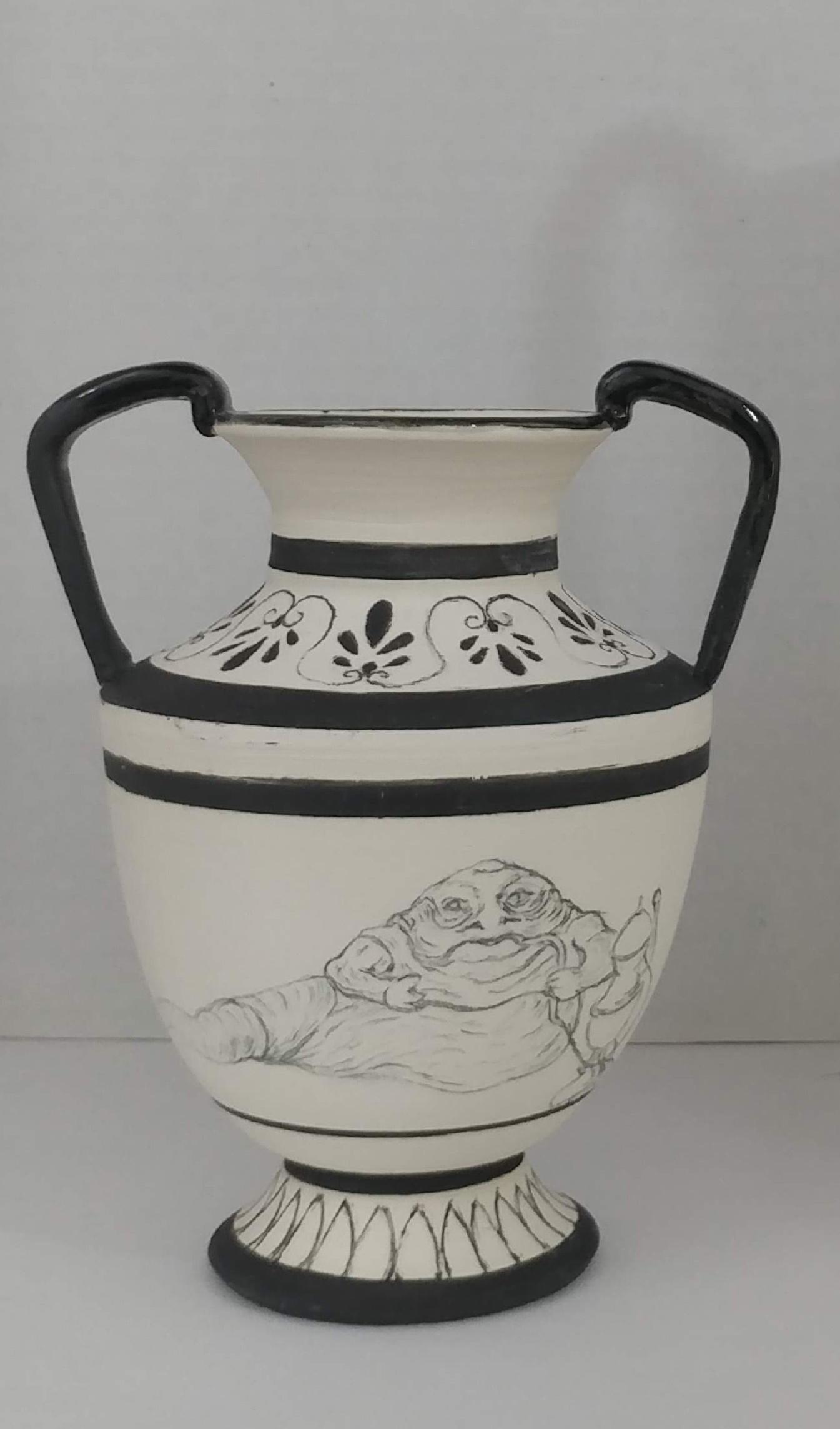 Jabba the Hutt Vase