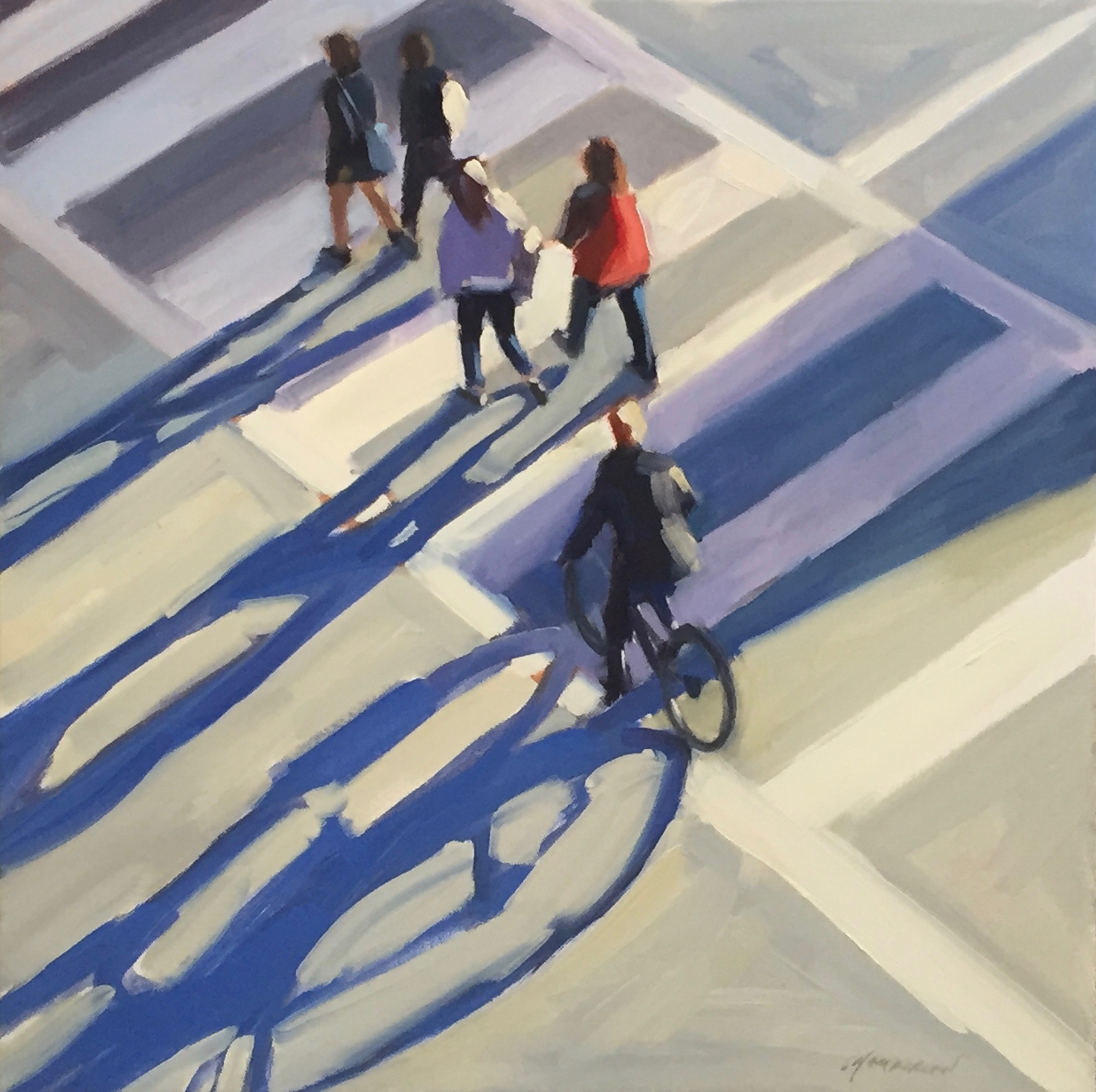 Crosswalk Shadows