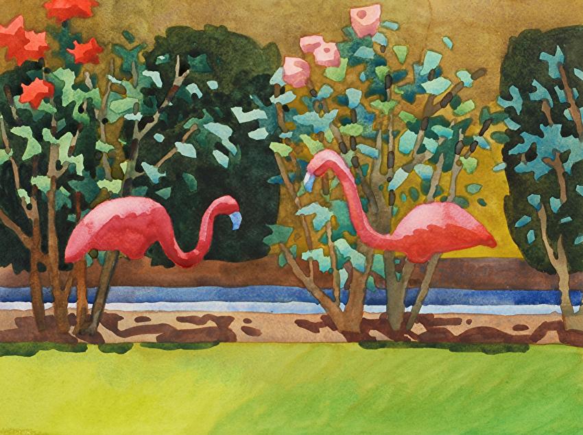 Flamingo Duet