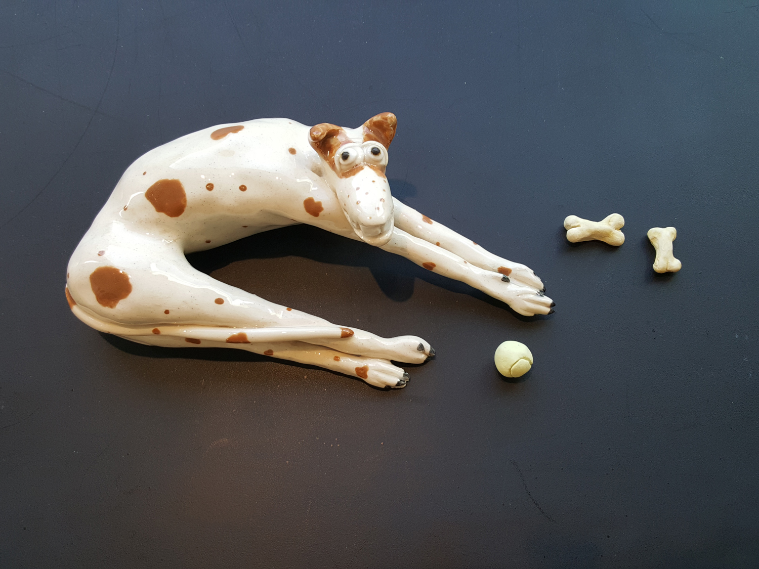 Brown-Spotted Dog