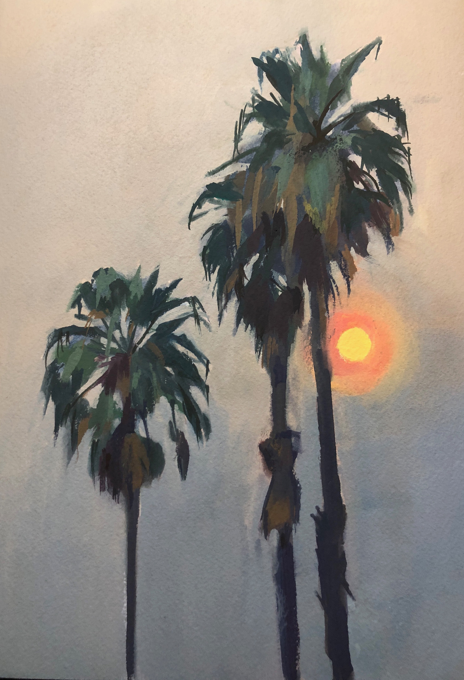 Smoky Palms