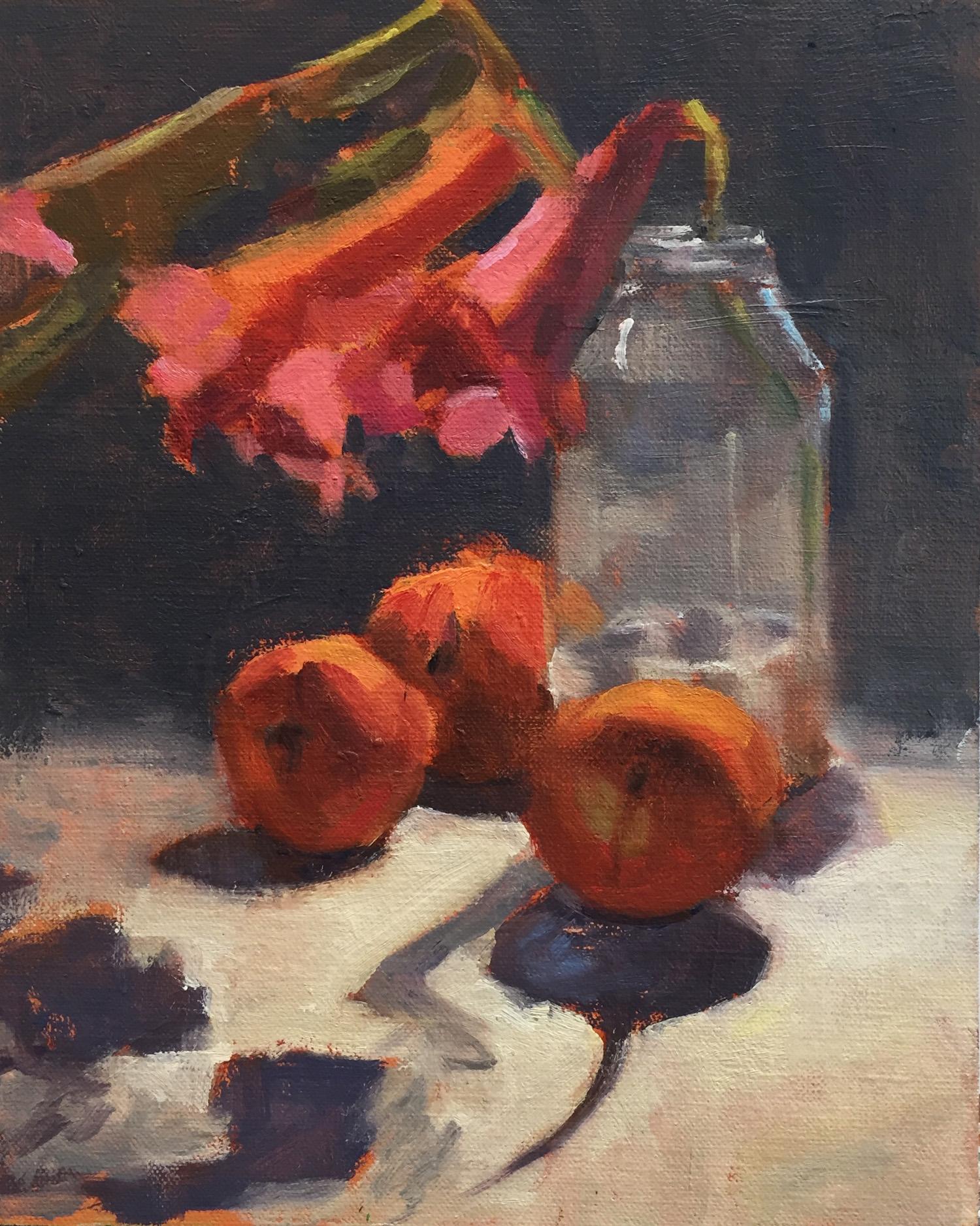 Passion Vine and Peaches