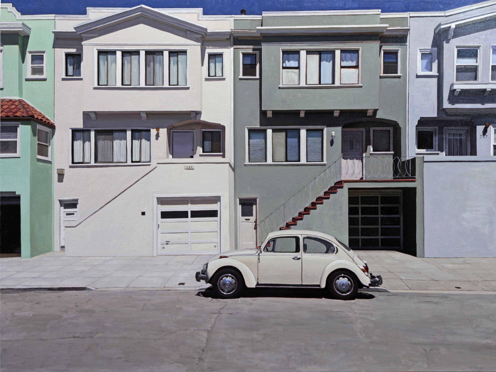 VW Bug in the Mission