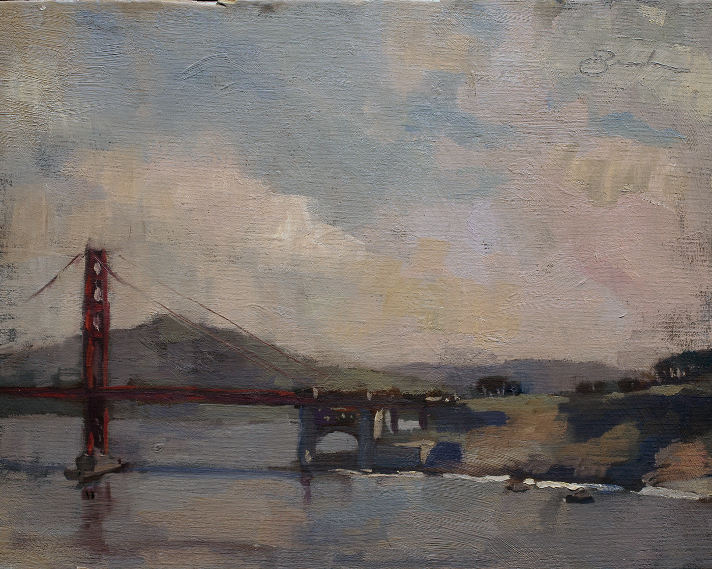 Golden Gate Composition