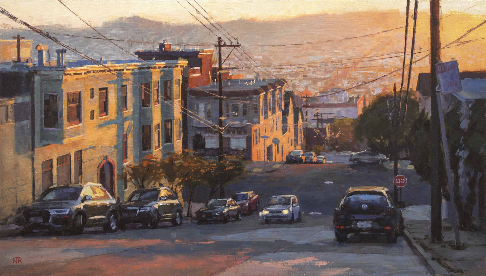 Sunset on Potrero Hill