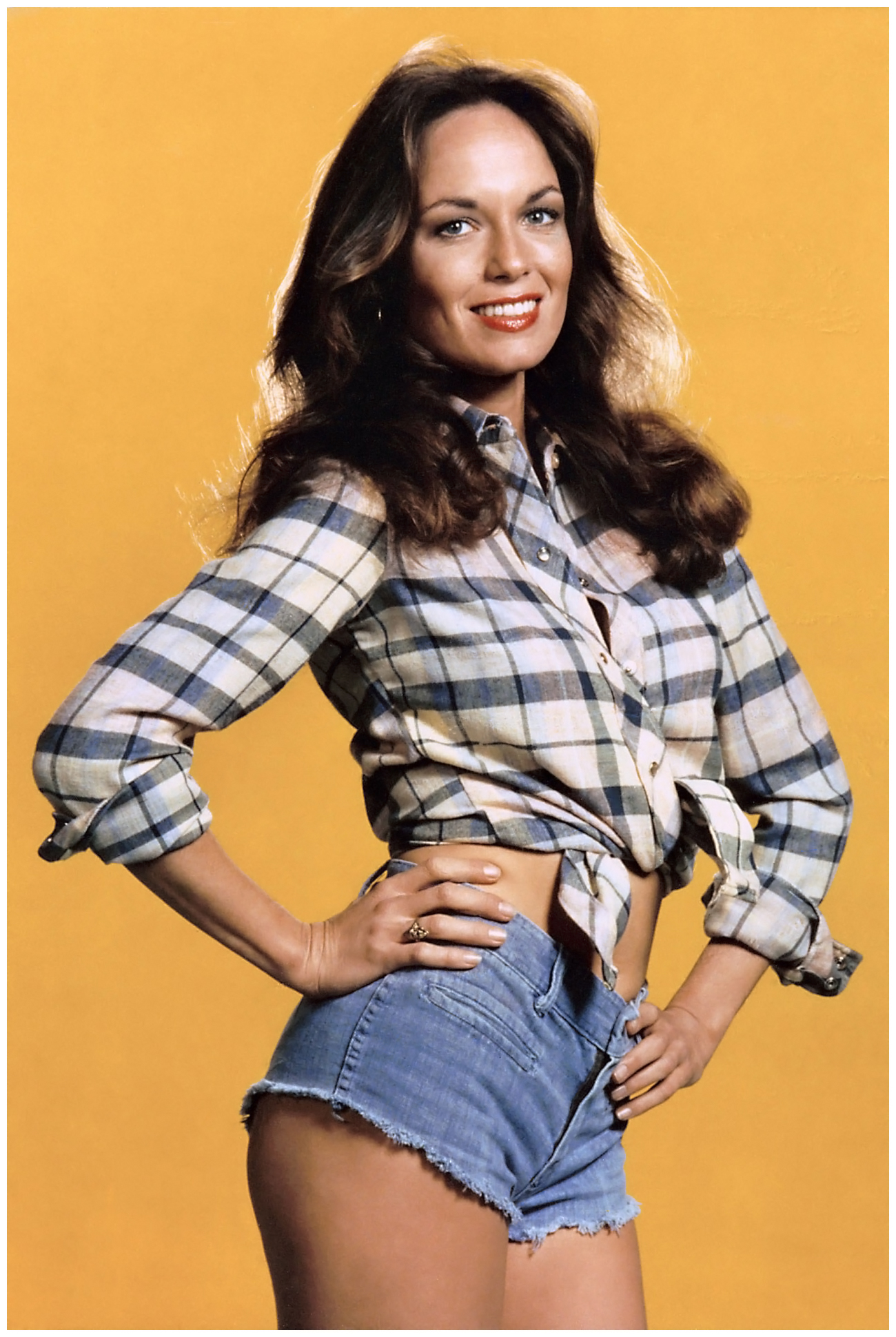 Daisy Duke: neither a model of feminism nor progressive social thought, but unequivocally a model of short shorts.