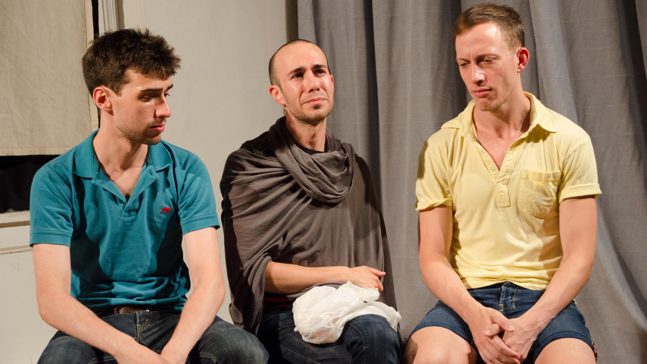 Glen Feinstein, Shawn Shafner and Justin Henry  THE RETURN