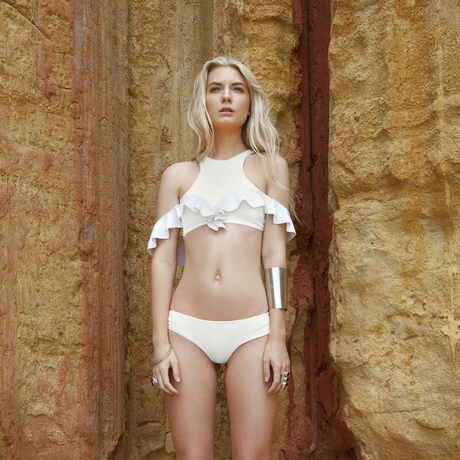 Made from recycled fabrics, Elle Evans makes swimwear with an ethical and thoughtful footprint.